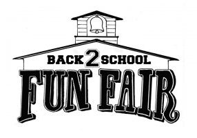 Back to School Fun Fair Logo Web