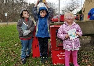 "The Washington Lands community recently celebrated the ""Grand Opening"" of its own Little Free Library."